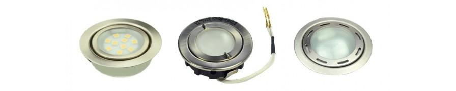 LED-Einbauleuchten mit vielseitigen Einsatz bei David Communication