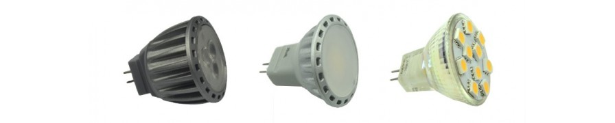 LED-Spots MR8/11 mit GU4 Sockel bei David Communication