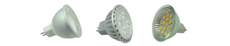 LED Spots in GU5.3 für 12V bei David Communication