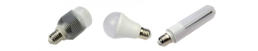 LED-Lampen mit E27 Sockel, warme Lichtfarben bei David Communication